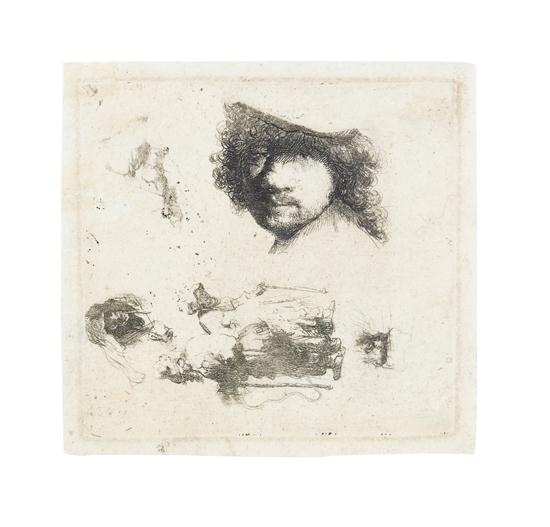 an analysis of the la petite tombe by rembrandt Rembrandt harmensz van rijn christ preaching ('la petite tombe') etching and drypoint, circa 1652, on laid paper, watermark foolscap with five-pointed.