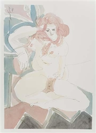 Artwork by Masuo Ikeda, 35 works: Idylle Highlife, Made of offset color lithographs