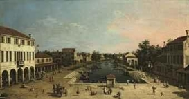 Canaletto, View of Mestre
