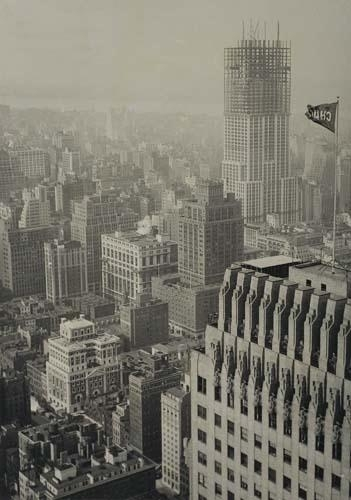 Artwork By Lewis Hine Empire State Building Construction View From Chrysler
