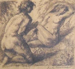 """""""L'Enfer - La Pensee et les Mortification Spirituelles"""" By Emile Bernard"""