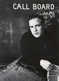 Artwork by Sanford Roth, Marlon Brando, Made of gelatin silver print