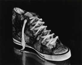 Artwork by Michiko Kon, CUTTLEFISH AND SNEAKER, Made of Gelatin silver print