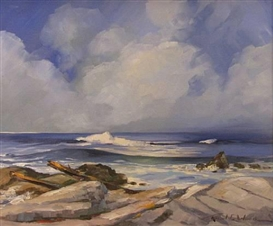 Robert E. Wood, Rocky coast