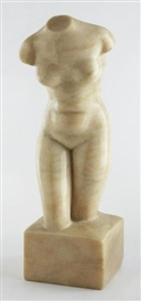Artwork by Charles Umlauf, Untitled - Nude, Made of Portuguese Rose marble sculpture