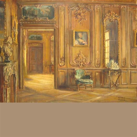 Charles henry tenre salles des boiseries louis for Salle de bain louis xv