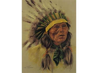 SIOUX CHIEF HIGH HORSE By Vilem Zach