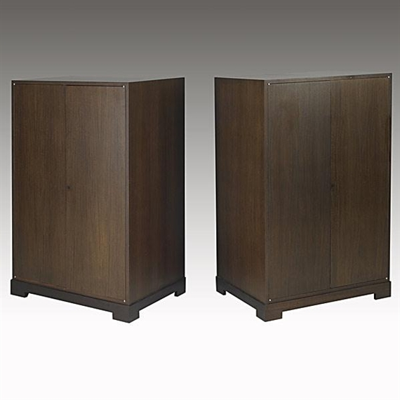 Liaigre christian 6 artworks mutualart for Armoire penderie wenge