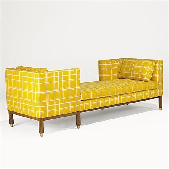 Edward Wormley Tete A Tete Sofa 1960 Mahogany