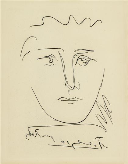 Pablo Picasso - L\'AGE DE SOLEIL, POUR ROBY, 1950,...