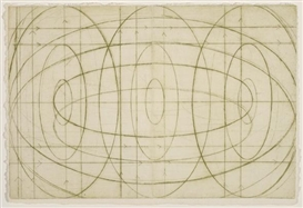 David Row, 2 works: Colombe; Composition with ovals