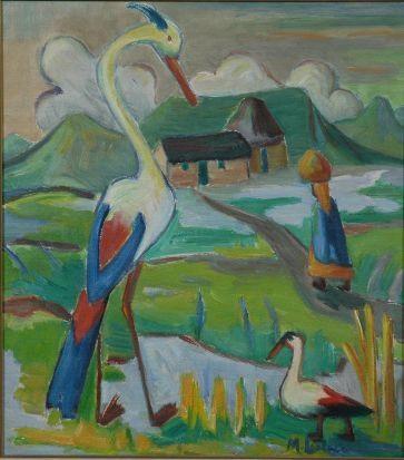 Maggie laubser ducks