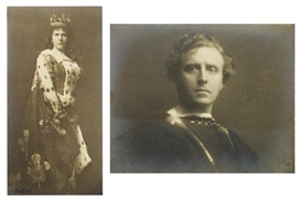 Arnold Genthe, 2 works: Louise Homer as Orsrud in Sohengrin at Court Garden in 1900 and EH. Sothein