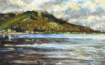 ROSTREVOR, CARLINGFORD LOUGH By Patric Stevenson