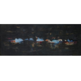 Dark Horizon (Seascape) By Norman Lewis ,1955