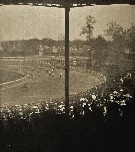 Alfred Stieglitz Going To The Start 1904