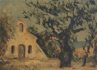 Chapelle Saint Anne De Ramatuelle By Maurice Legendre