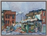 Henry Koerner, Urban scene with building construction