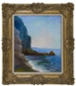 Felix Bracquemond, Cliffs near ocean