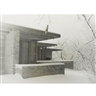 Pedro Guerrero, Pair of Photographs of Frank Lloyd Wright's Clarence Sondern House, Kansas City, Missouri