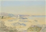 Edward Martindale Richardson, Two works : Archirondel Bay ; Elizabeth Castle at low tide, Jersey