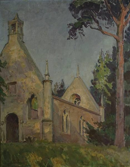 Henry Lamb, Ruined Chruch