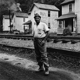 Artwork by Milton Rogovin, Appalachia #3, Made of Silver print