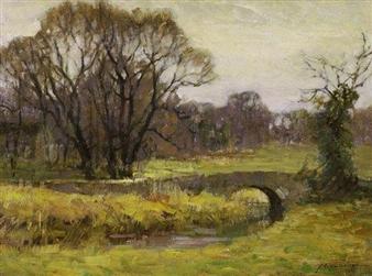 ''Landscape'' By Frederick J. Mulhaupt
