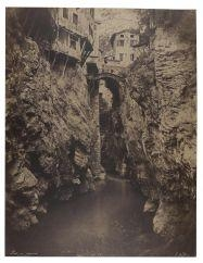 Artwork by Édouard-Denis Baldus, Pont en Royans, vers 1854, Made of Salty ordeal, glass negative on card