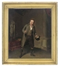 Samuel de Wilde, Portrait of an actor, full-length, on stage