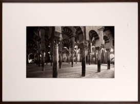 "Artwork by Dick Arentz, ""Le Mesquita, Cordoba Spain"", Made of Platinum palladium print"