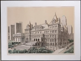 "Richard Haas, ""State Capital, Albany"""
