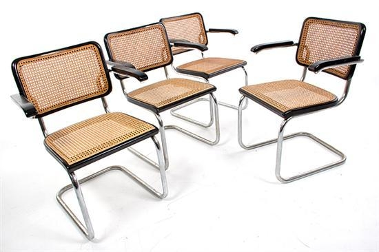 marcel breuer chair cesca breuer cesca chair awesome set of six marcel breuer cesca chairs. Black Bedroom Furniture Sets. Home Design Ideas