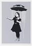 Banksy, NOLA, White Rain