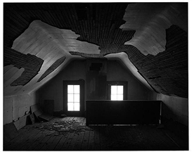 Artwork by Oliver Gagliani, ATTIC WINDOWS, Made of gelatin silver print