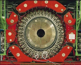 Artwork by Simon Norfolk, Large Hadron Collider, No. 1, CERN Labs, Switzerland, 2007, Made of chromogenic print, flush-mounted on sintra