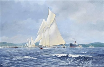 Shipping on the Clyde By John J. Holmes