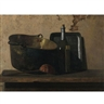 John Frederick Peto, Wine and Brass Stewing Kettle (Preparation of French Potage)