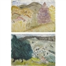 Milton Avery, 'Autumn' and 'Summer': A Double-Sided Watercolor