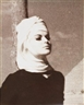 Norman Parkinson, Wilhelmina wearing Mary Quant Headdress, for Queen