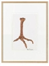 Merce Cunningham, Untitled (clawed foot)