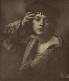 Artwork by F. Benedict Herzog, Marcella, Made of Photogravure