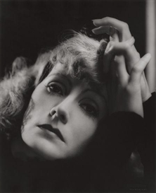 Artwork by Clarence Sinclair Bull, Greta Garbo, Made of Gelatin silver