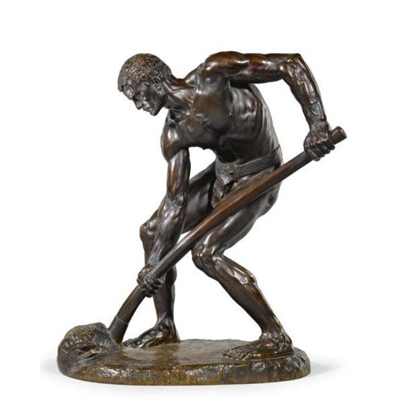 Alfred boucher a la terre the labourer 1897 - Labourer la terre ...