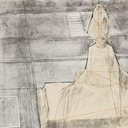Christo Wrapped Monument To Vittorio Emanueule Project For Piazza Del Duomo Milan 1975 Mutualart