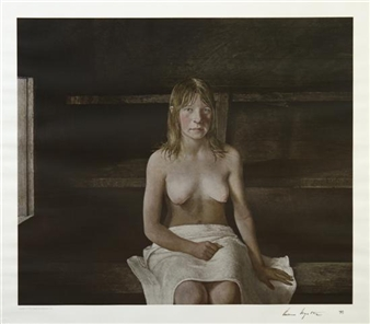 The Sauna By Andrew Wyeth
