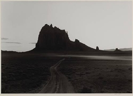 Artwork by William Clift, Road, Shiprock, New Mexico, Made of Gelatin silver print