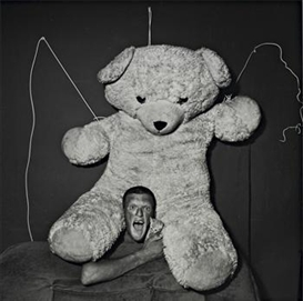 Roger Ballen, Excited Man, 2001