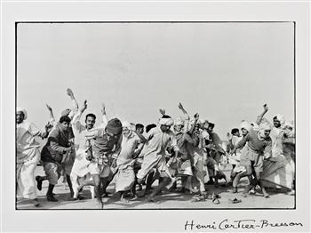 Cartier-Bresson Henri | Games in a refugee camp at