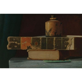 Artwork by John Frederick Peto, The Arnold Inkwell, Made of oil on academy board